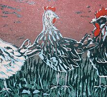 Bridget's Poultry 2 by Susan Duffey