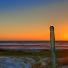 Sunset on Melkbosstrand Beach, West Coast, South Africa by John  Paper