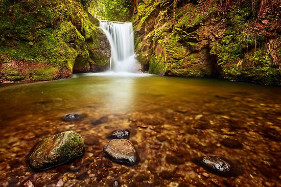 Geroldsau Cascade by Michael Breitung