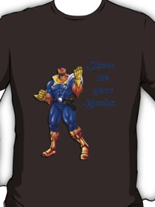 Captain Falcon Wants Boobs T-Shirt