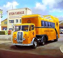 AA Seddon exhibition unit. by Mike Jeffries