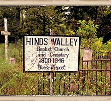 """THE CEMETERY""... a Series... #12 Sacred Ground of Olden Days by © Bob Hall"