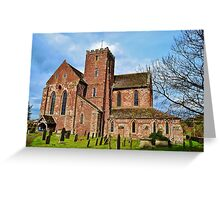 Dore Abbey Greeting Card