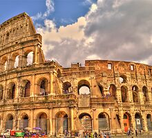 Colosseum by Smudgers Art