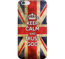 Religious Christian iPhone 4 Case Cover British Flag iPhone Case/Skin