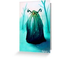 Valfar snowblind Greeting Card