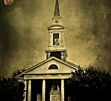 She left the church with her head bowed and a tear on her face by Scott Mitchell
