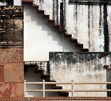 Agra Fort Shapes And patterns by phil decocco