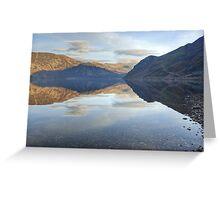 The Lake District...Ennerdale Water Greeting Card