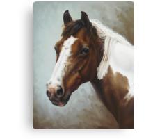 Paint Portrait Canvas Print