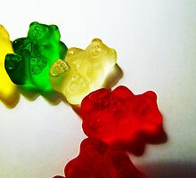 Gummy Bear Semi-Circle by Nevermind the Camera Photography