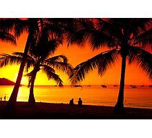 Magnetic Sunset Photographic Print
