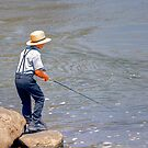 Favorite Fishing Hole by Monte Morton