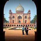 Safdarjung's Tomb, Islamic mausoleum in New Delhi by not-home.com - We Travel