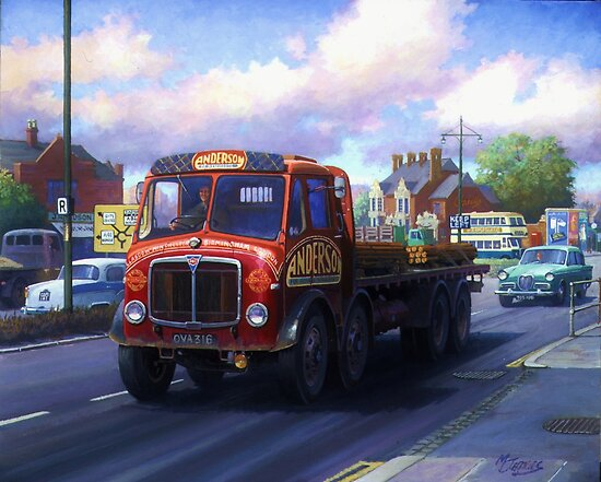 AEC Mammoth Major Mk III in Birmingham. by Mike Jeffries