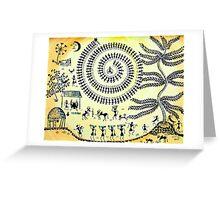 Warli Day Greeting Card