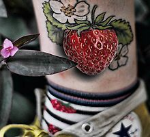 Strawberry Ankle Forever by GolemAura