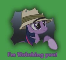 "Twilight Sparkle ""I'm Watching you!"" - My Little Pony Friendship is Magic Kids Clothes"