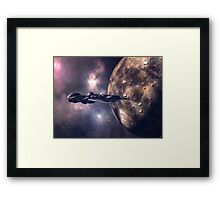 Tinman Travels Onwards Framed Print