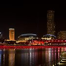 Singapore: Marina Bay Walkway by Kasia-D