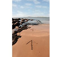 arrows in the sand Photographic Print