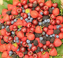 Mixed berries by jamesnortondslr