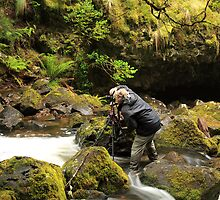 The Waterfall Whisperer by tinnieopener