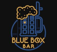 BLUE BOX BAR by DREWWISE