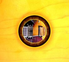 gibson Guitar by rafi talby by RAFI TALBY