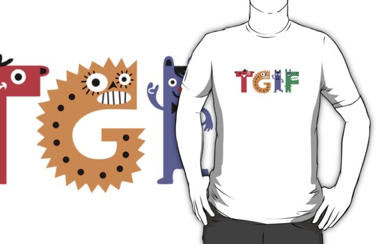 TGIF Monsters by Andi Bird