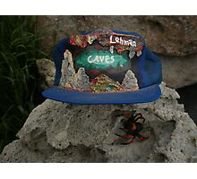 Lehman Caves / fire painting on cap artwork \ and Wolf Spider Photographic Print