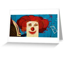 """""""Carrot Top""""-- A Coney's Clown.................................3 of 9 Greeting Card"""