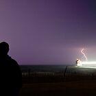 Watching a Lightning Storm by Davinchi