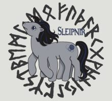 My Little Sleipnir by Amiteestoo