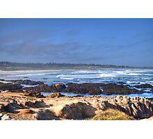 Rocks Before Beach Photographic Print