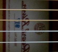 Flamenco Guitar by rafi talby Sticker