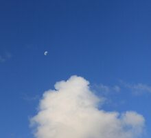 Cloud and Moon by salvadorleary