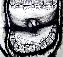 decaying city rotten teeth by brandon lynch