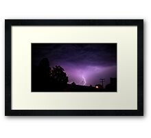 May 1 2012 Morning Storm 23 Framed Print