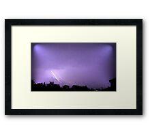 May 1 2012 Morning Storm 33 Framed Print