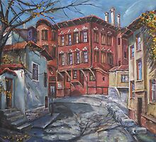 The Old Plovdiv - Autumn Sun by Stefano Popovski