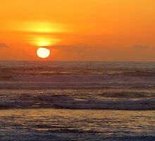 Our 25th Anniversary Sunset.....Florence, Oregon by trueblvr