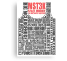 MST3K: The many names of David Ryder Canvas Print