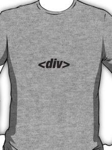 <div id=yourtshirt> T-Shirt