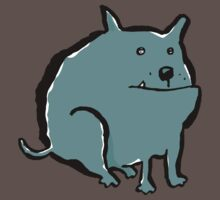 fat dog by greendeer