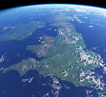 British Isles ~ view from orbit by Richard Fraser