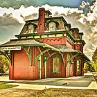 North Bennington Depot by Frank Sant'Agata