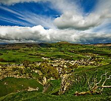 Castleton In The Peak District by Darren Burroughs