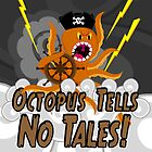 Octopus Tells no Tales! Black Sky Version by creativeburn