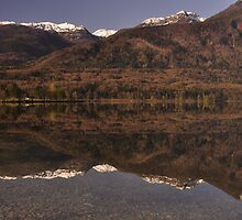 Lake Bohinj Slovenia by pixsellpix